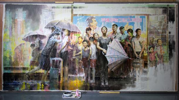 """Temporal"", por Kim In-sok. Imagem: Bienal de Gwangju"