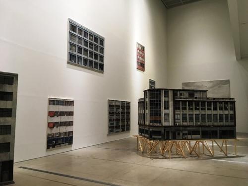 Obras de Jung Jae-ho. Foto: Museu Nacional de Arte Moderna e Contemporânea MMCA/Yonhap