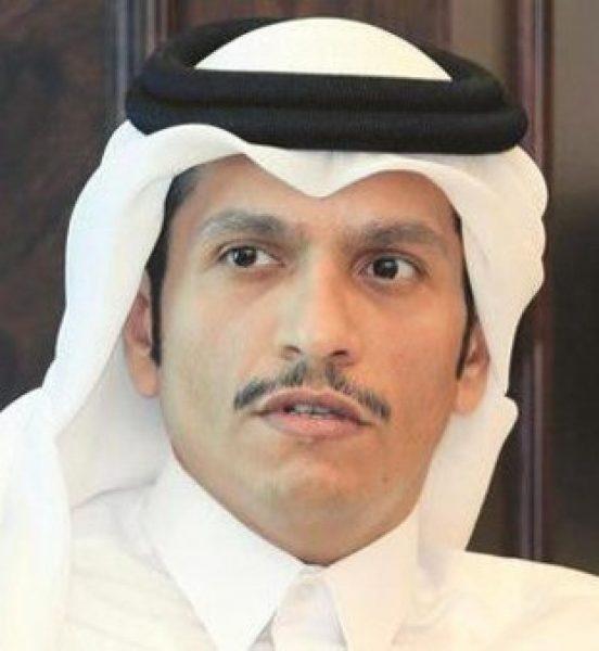 O Ministro E Sheik Mohammed Bin Abdulrahman Bin Jassim Al Thani. Foto: Al Jazeera