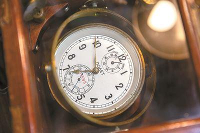 Relógio De Submarino Da Era Soviética, O Favorito Da Coleção De Lee Jong-Hoon. Foto: Shim Hyun-Chul / Korea Times