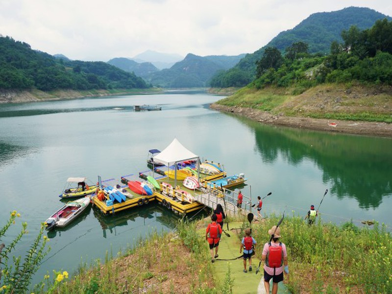Lago Cheongpung (Via: Korea Tourism Organization)