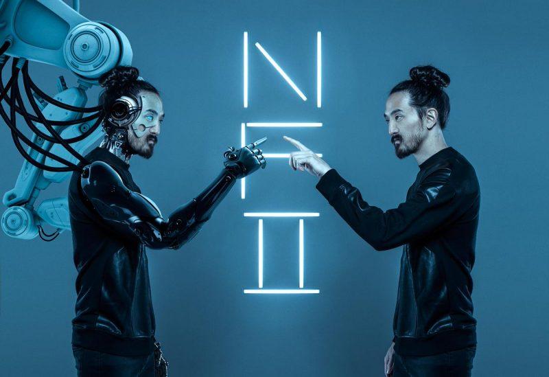 Neon Future II, álbum de Steve Aoki. Foto: Twitter