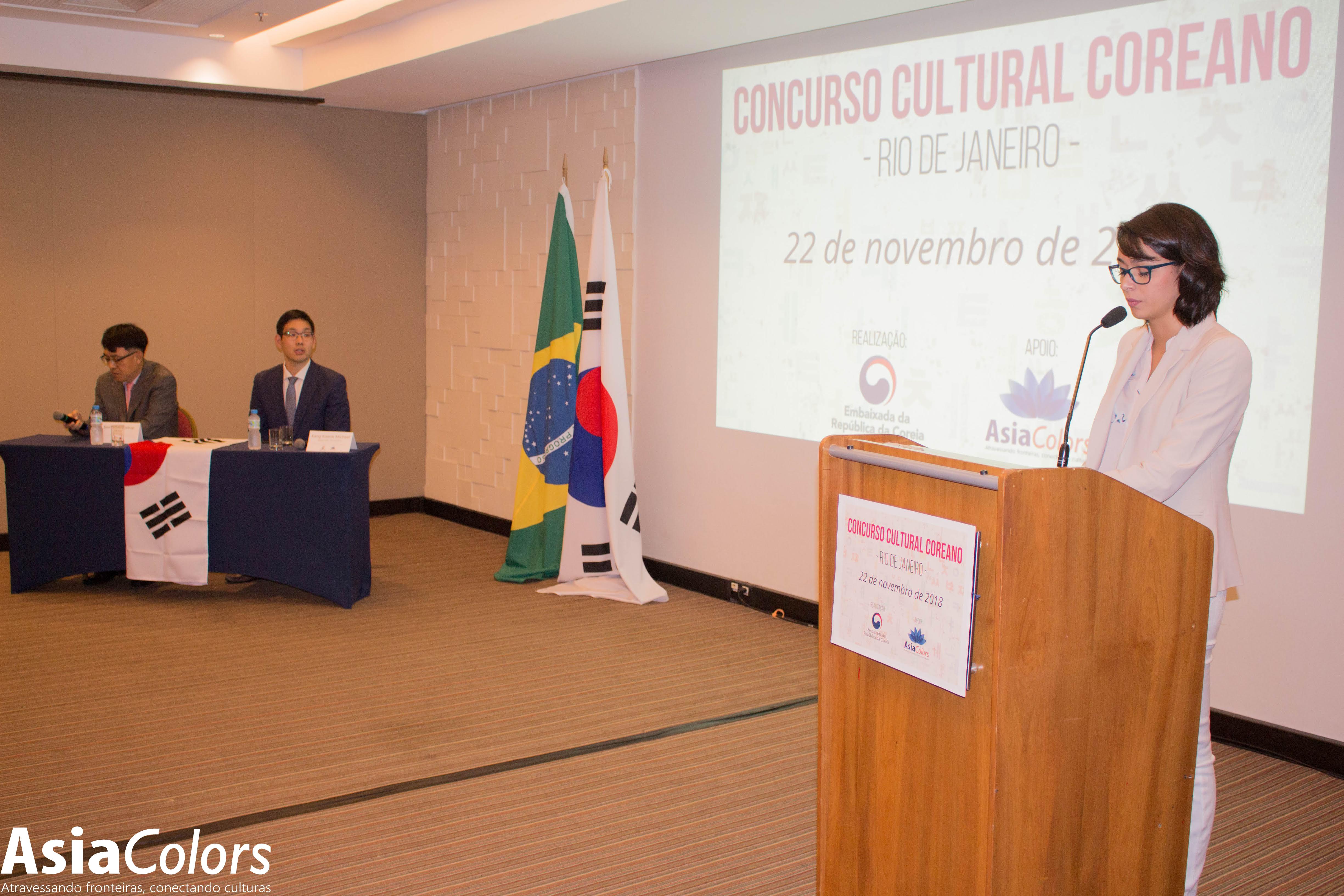 A Diretora Executiva Da Asiacolors Marcelle Torres Conduziu A Cerimônia De Premiações.. Foto: Kimio Okuno.