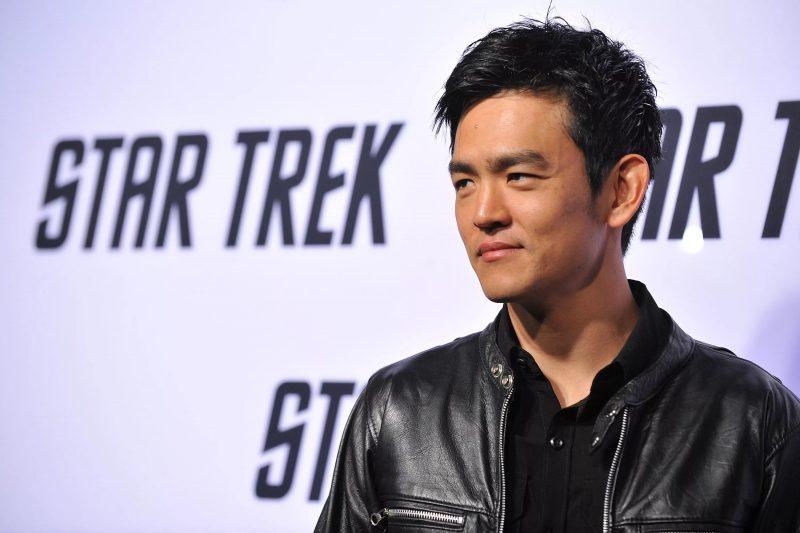 John Cho nas promoções de Star Trek. Foto: wallpapertop