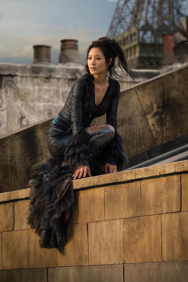 Claudia Kim como Nagini. Foto: CinePop