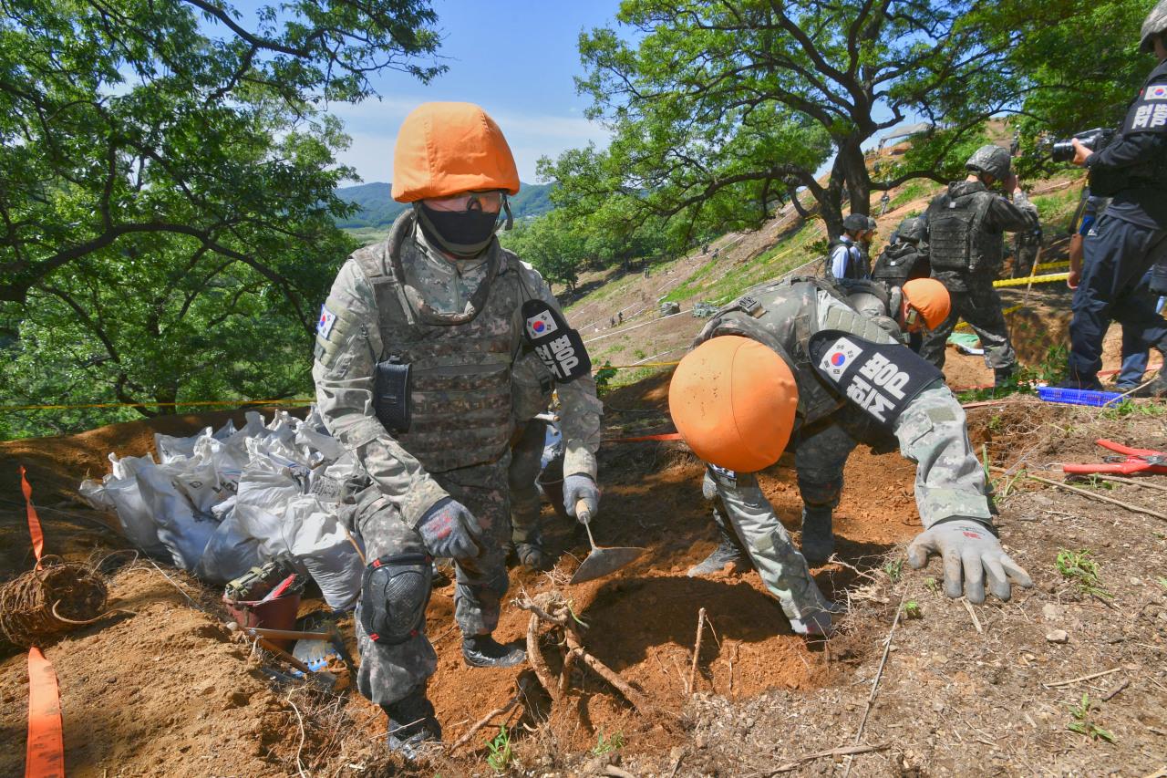 Descoberta Na Dmz: Vestígios Da Guerra Da Coreia Deixados Intocados Em Arrowhead Ridge