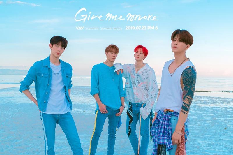 """""""Give Me More"""" Do Vav É O Novo Mix-Cultural Entre K-Pop E Música Latina"""