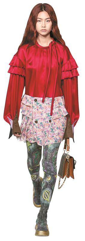 Modelo Coreana Ruiva Abala As Maiores Fashion Weeks Do Mundo
