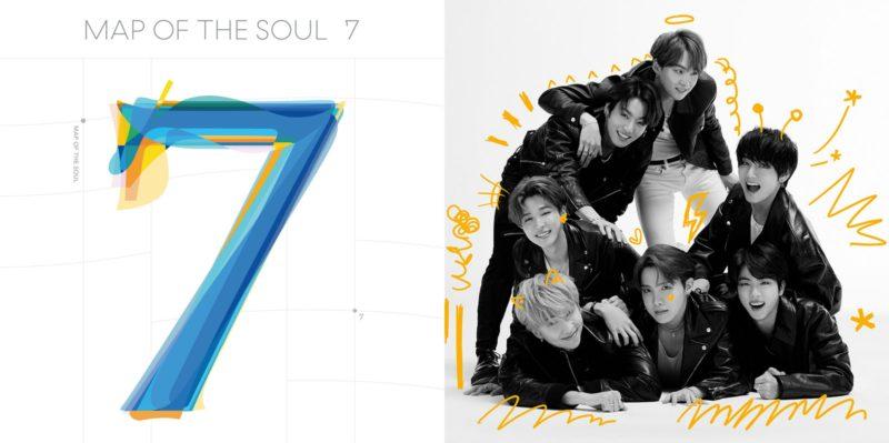 Bts Lidera A Billboard 200 Com &Quot;Map Of The Soul: 7&Quot;