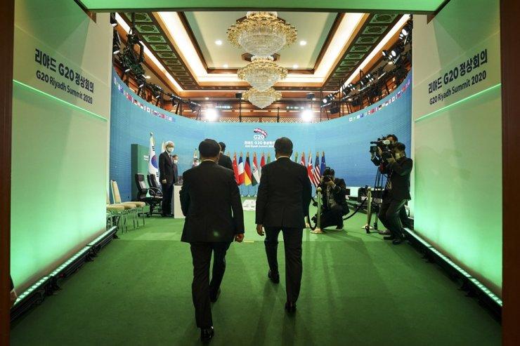 Cúpula Do G20: Presidente Moon Pede Cooperação Para Resposta À Pandemia E Recuperação Econômica