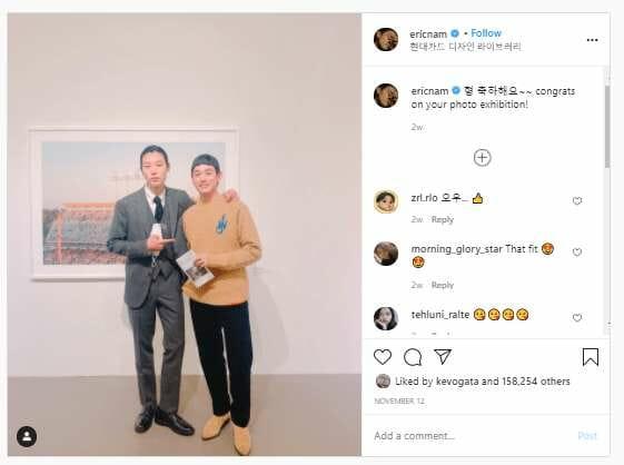 Artistas Visitam A Exposição Fotográfica De Ryu Jun-Yeol
