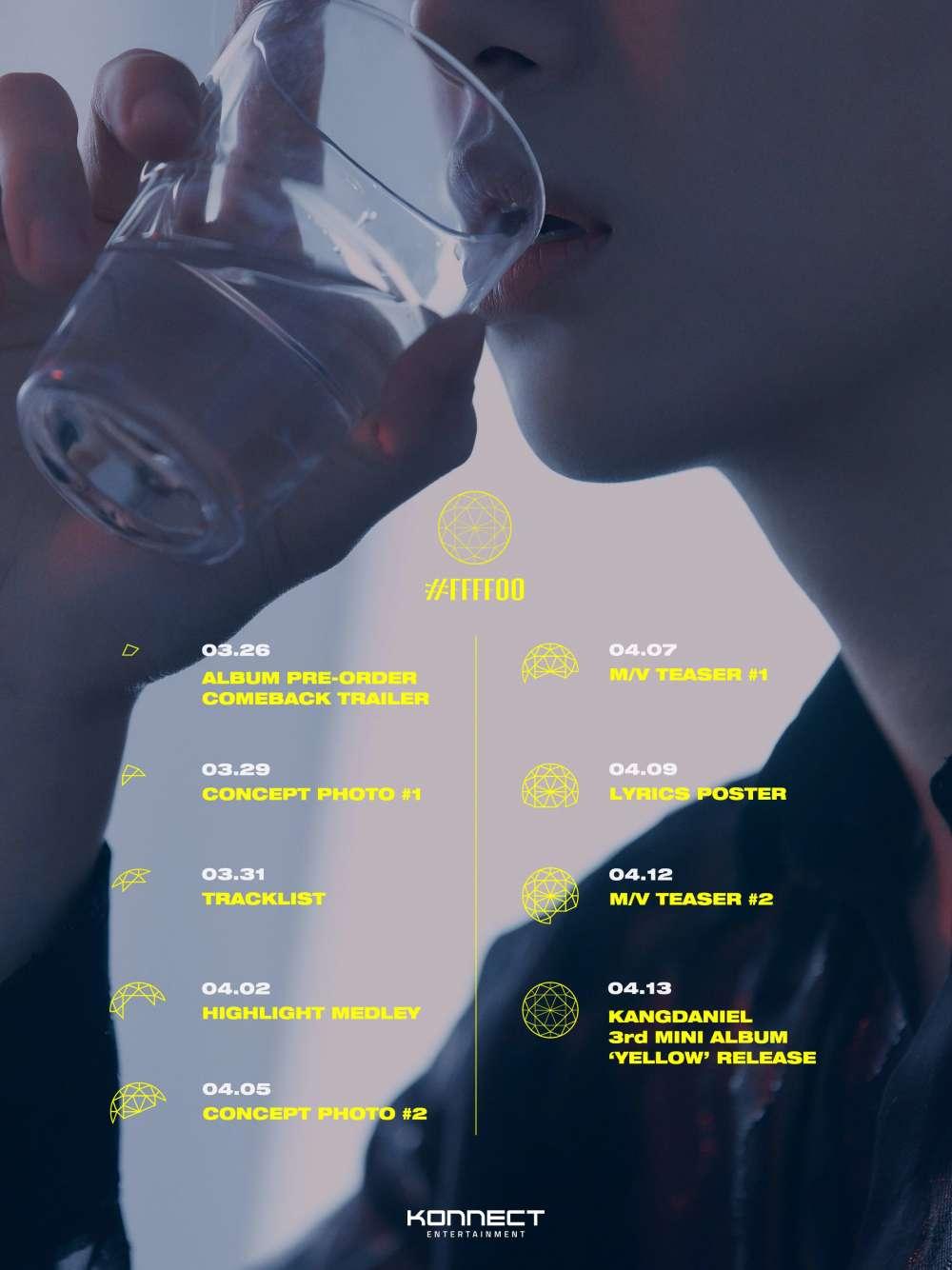 Ex-Integrantes Do Wanna One Vão Esquentar A Cena Musical Em Abril