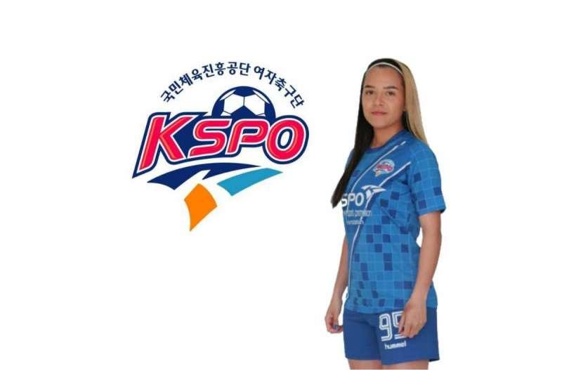 Thays Ferrer, Atleta Brasileira No Futebol Coreano
