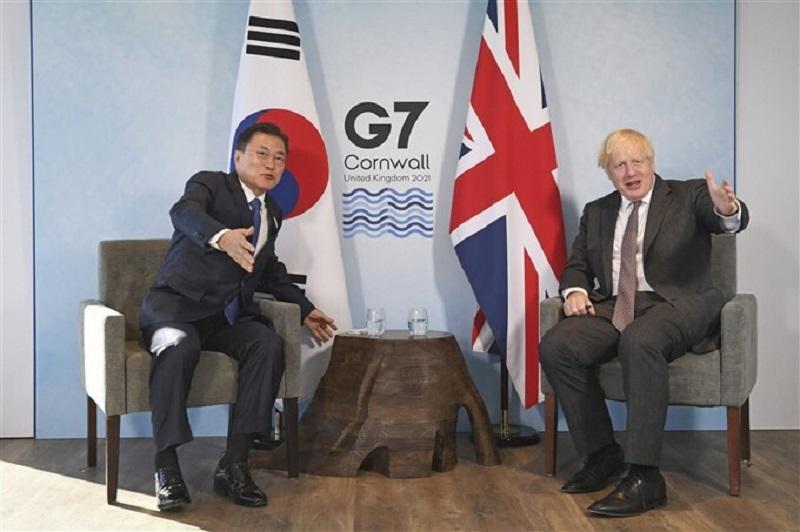 Convite Para O G7 Mostra A Importância Da Coreia