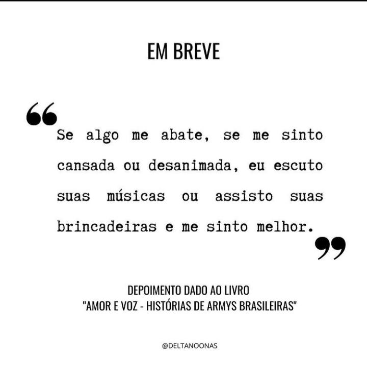 O Amor E A Voz Das Army Brasileiras Eternizados Em Livro
