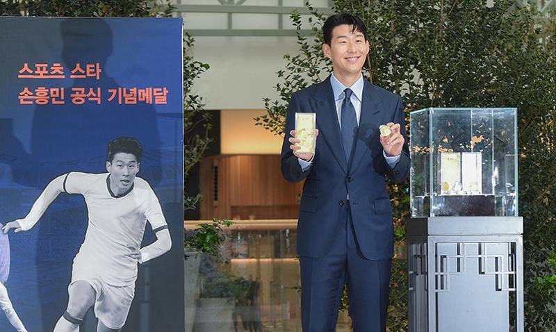 Coreia Produz Moedas Em Homenagem Ao Jogador Son Heung-Min [K-Sports]